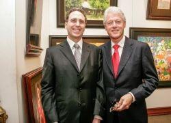 Mr. Salzman & Mr. Bill Clinton: Clinton Foundation Hanoi